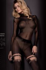 Ballerina 306 Tights Nero (Black)/Skin